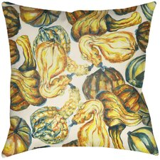 Lodge Cabin Harvest Indoor/Outdoor Throw Pillow