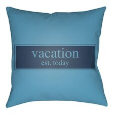 Cool Litchfield Vacation Outdoor Throw Pillow