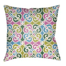 Modern Lolita Garland Indoor/Outdoor Throw Pillow