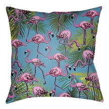 2017 Coupon Lolita Flamingo Indoor/Outdoor Throw Pillow