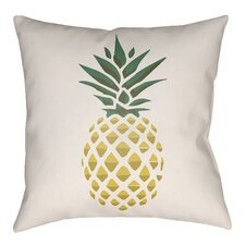 Lolita Pineapple Indoor/Outdoor Throw Pillow