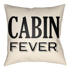 Lodge Cabin Fever Indoor/Outdoor Throw Pillow