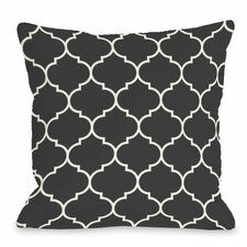 Wonderful Repeating Moroccan Outdoor Throw Pillow