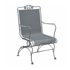 Wonderful Briarwood Coil Spring High Back Chair