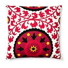 Suzani Pillow Indoor/Outdoor Throw Pillow
