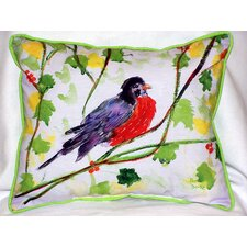 Robin Outdoor Lumbar Pillow