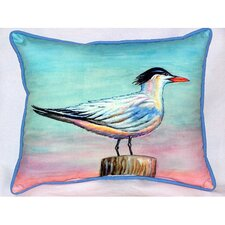 Royal Tern Indoor/Outdoor Lumbar Pillow