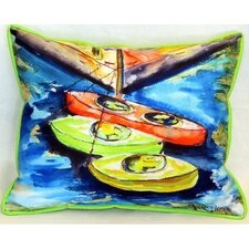 Kayak Indoor/Outdoor Lumbar Pillow