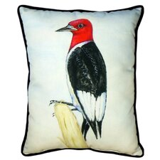 Woodpecker Indoor/Outdoor Lumbar Pillow