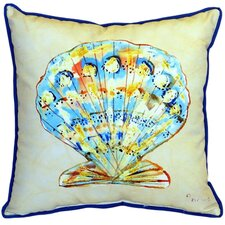 Scallop Indoor/Outdoor Euro Pillow