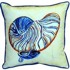 Nautilus Indoor/Outdoor Euro Pillow