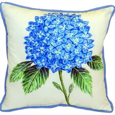 Dick's Hydrangea Indoor/Outdoor Euro Pillow