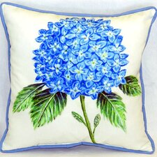 Wonderful Dick's Hydrangea Indoor/Outdoor Throw Pillow