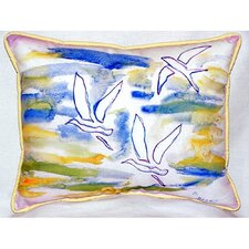 Three Gulls Indoor/Outdoor Lumbar Pillow