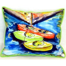 Kayaks Indoor/Outdoor Lumbar Pillow