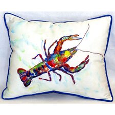 Crayfish Indoor/Outdoor Lumbar Pillow