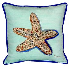 Starfish Indoor/Outdoor Euro Pillow