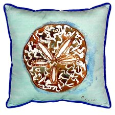 Sand Dollar Indoor/Outdoor Euro Pillow