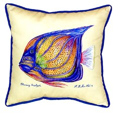 Ring Angelfish Indoor/Outdoor Euro Pillow