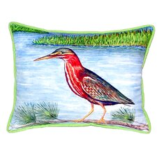 Heron II Indoor/Outdoor Lumbar Pillow
