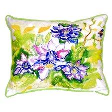 Clematis Indoor/Outdoor Lumbar Pillow