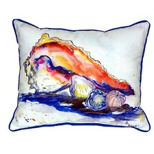 Conch Indoor/Outdoor Lumbar Pillow