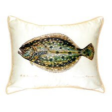 Flounder Indoor/Outdoor Lumbar Pillow