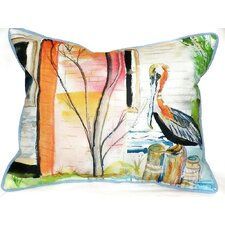 Pelican Indoor/Outdoor Lumbar Pillow
