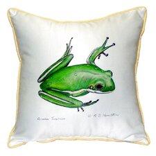 Treefrog Indoor/Outdoor Throw Pillow