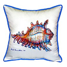 Conch Indoor/Outdoor Throw Pillow
