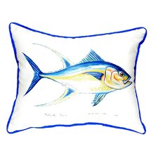 Herry Up Tuna Indoor/Outdoor Lumbar Pillow