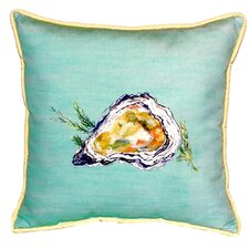Oyster Indoor/Outdoor Euro Pillow