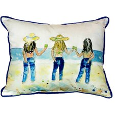 Sandy Bottoms Indoor/Outdoor Lumbar Pillow