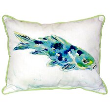 Koi Indoor/Outdoor Lumbar Pillow