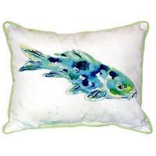 No Copoun Koi Indoor/Outdoor Lumbar Pillow