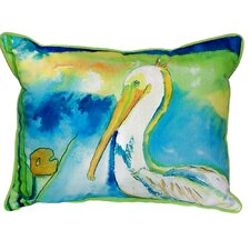 Great Reviews Pelican Indoor/Outdoor Lumbar Pillow