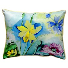Florals Indoor/Outdoor Lumbar Pillow