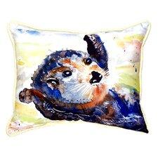 Read Reviews Otter Indoor/Outdoor Lumbar Pillow