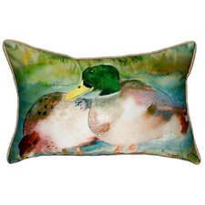 Mallards Indoor/Outdoor Lumbar Pillow