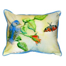 Bird Indoor/Outdoor Lumbar Pillow