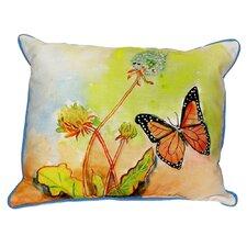 Butterfly Indoor/Outdoor Lumbar Pillow
