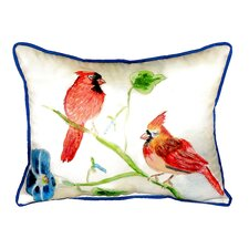 Cardinals Indoor/Outdoor Lumbar Pillow