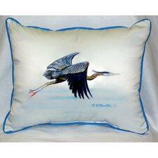 Heron Indoor/Outdoor Lumbar Pillow