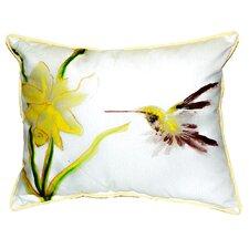 Hummingbird Indoor/Outdoor Lumbar Pillow