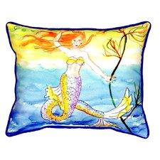 Mermaid Indoor/Outdoor Lumbar Pillow