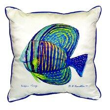 Sailfin Tang Indoor/Outdoor Throw Pillow
