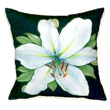 Casablanca Lily Indoor/Outdoor Throw Pillow