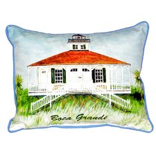 Boca Grande Lighthouse Indoor/Outdoor Lumbar Pillow