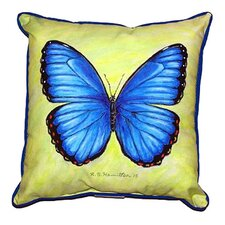 Morpho Outdoor Throw Pillow