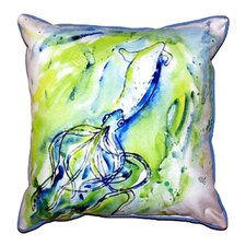 Calamari Indoor/Outdoor Throw Pillow
